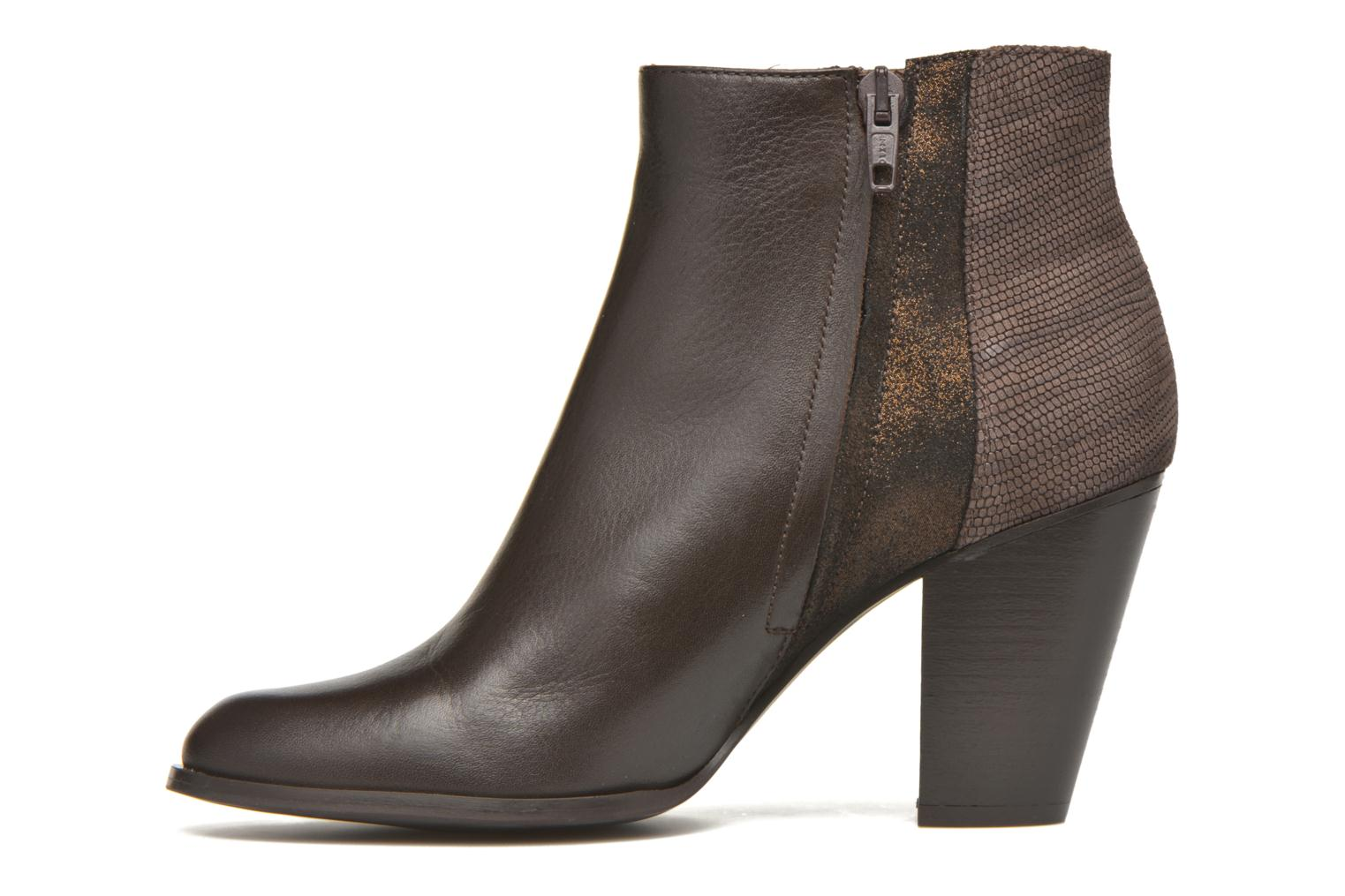 Ankle boots Schmoove Woman Gravity delta Brown front view