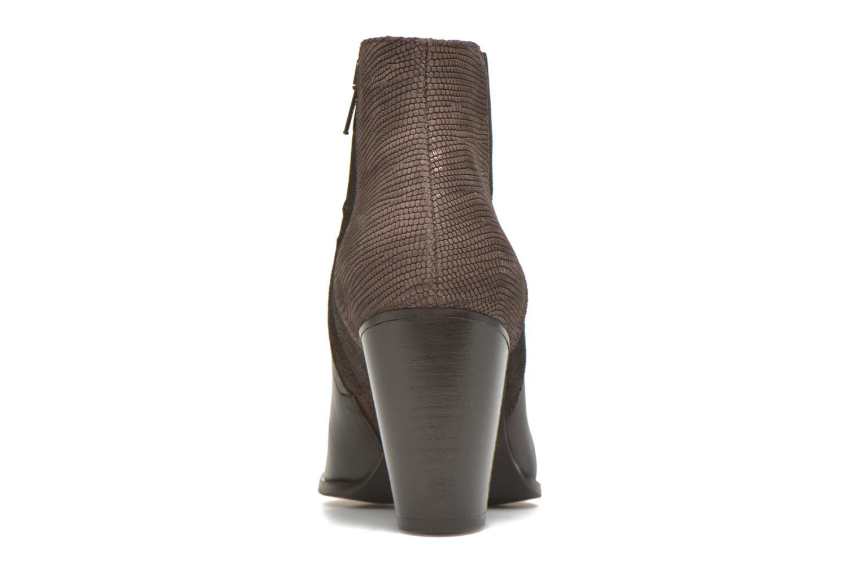 Bottines et boots Schmoove Woman Gravity delta Marron vue droite