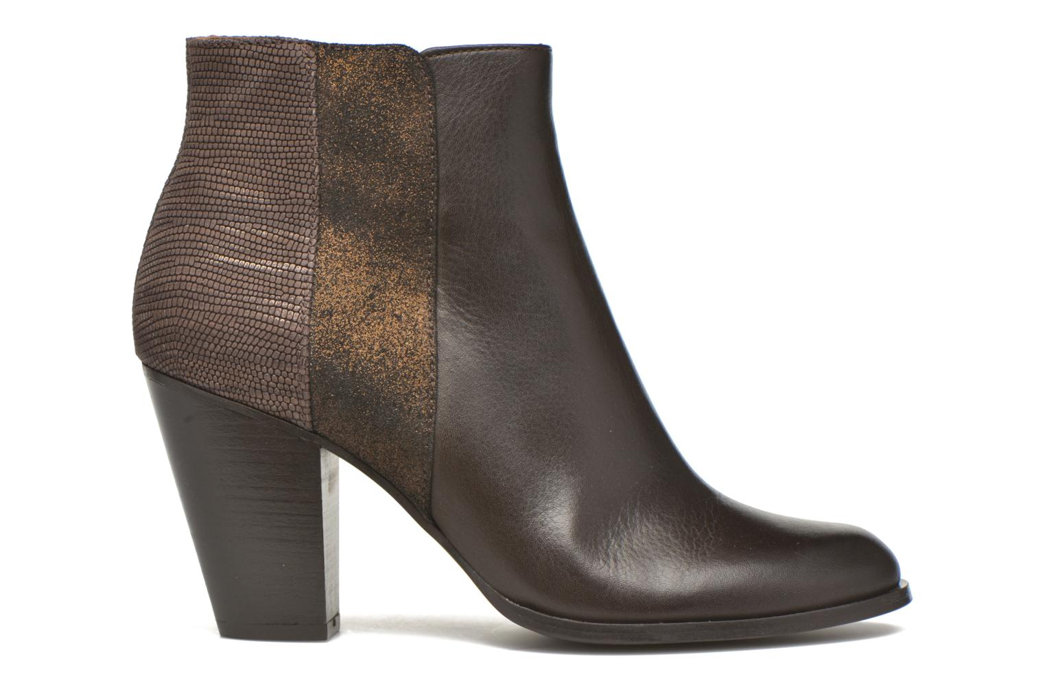 Ankle boots Schmoove Woman Gravity delta Brown back view