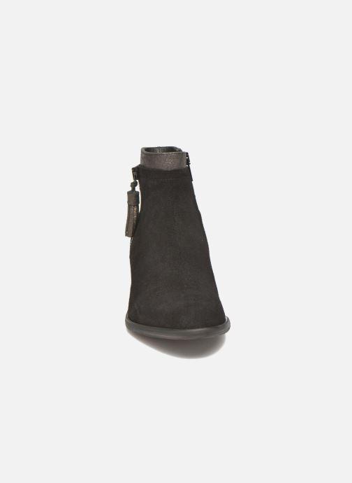 Bottines et boots Schmoove Woman Neptune zip boots Noir vue portées chaussures