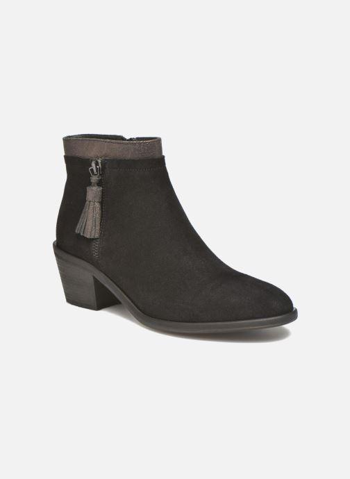 Bottines et boots Schmoove Woman Neptune zip boots Noir vue détail/paire