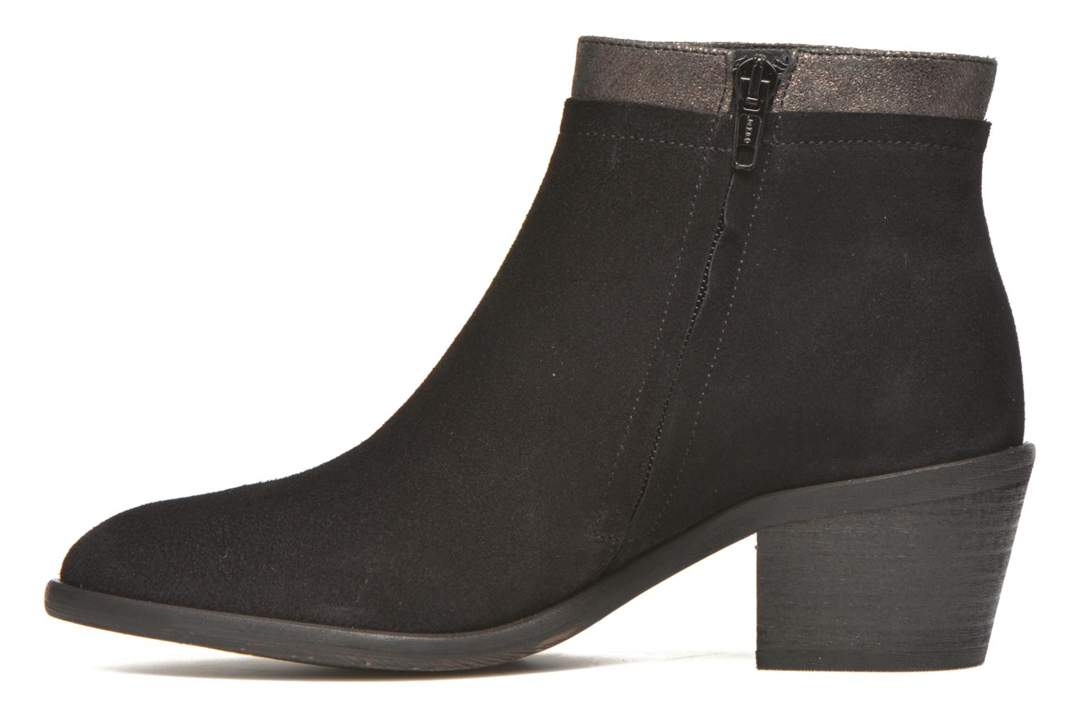 Ankle boots Schmoove Woman Neptune zip boots Black front view