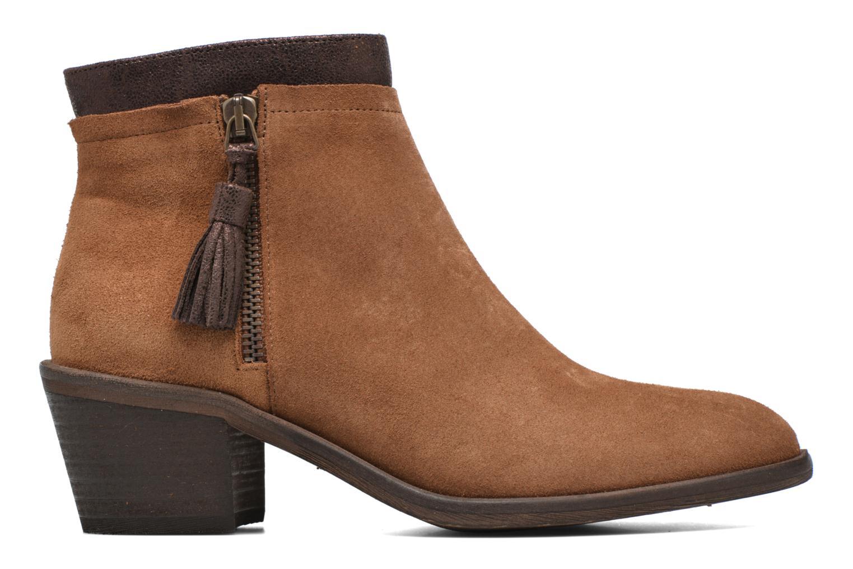 Bottines et boots Schmoove Woman Neptune zip boots Marron vue derrière