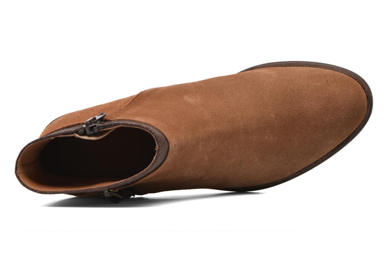 Bottines et boots Schmoove Woman Neptune zip boots Marron vue gauche