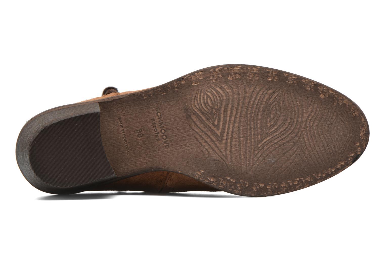 Bottines et boots Schmoove Woman Neptune zip boots Marron vue haut
