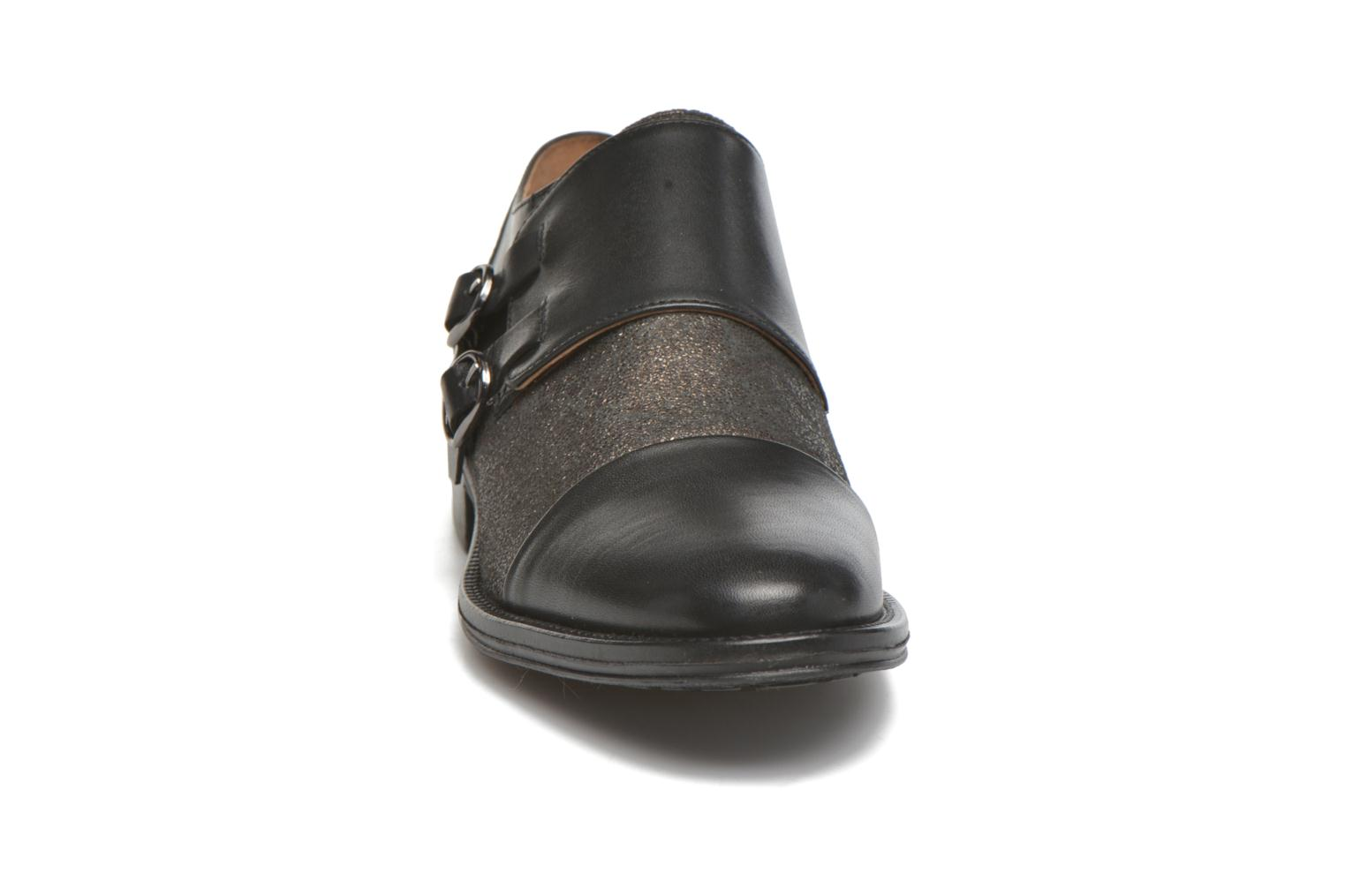 Loafers Schmoove Woman Newton sauvage Black model view