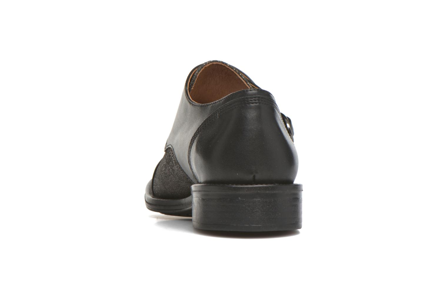 Loafers Schmoove Woman Newton sauvage Black view from the right