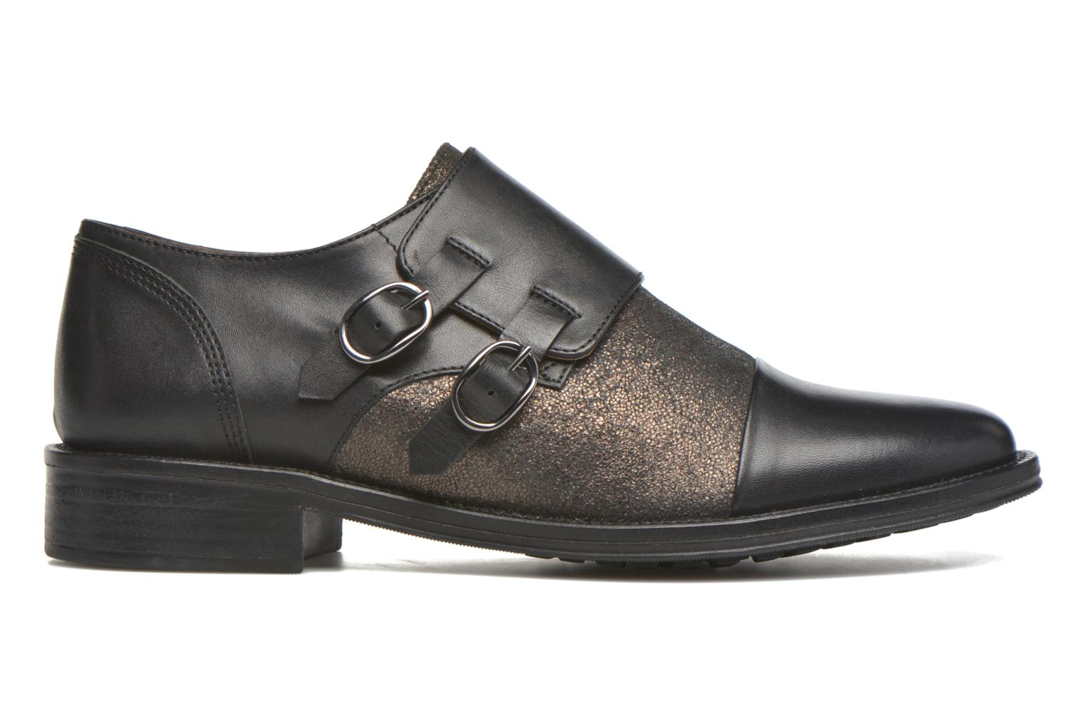 Loafers Schmoove Woman Newton sauvage Black back view