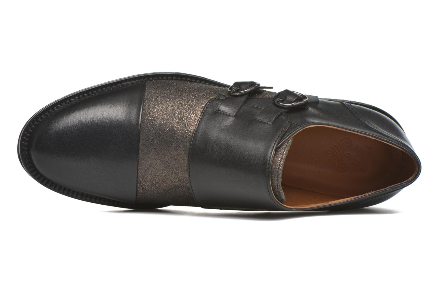 Loafers Schmoove Woman Newton sauvage Black view from the left