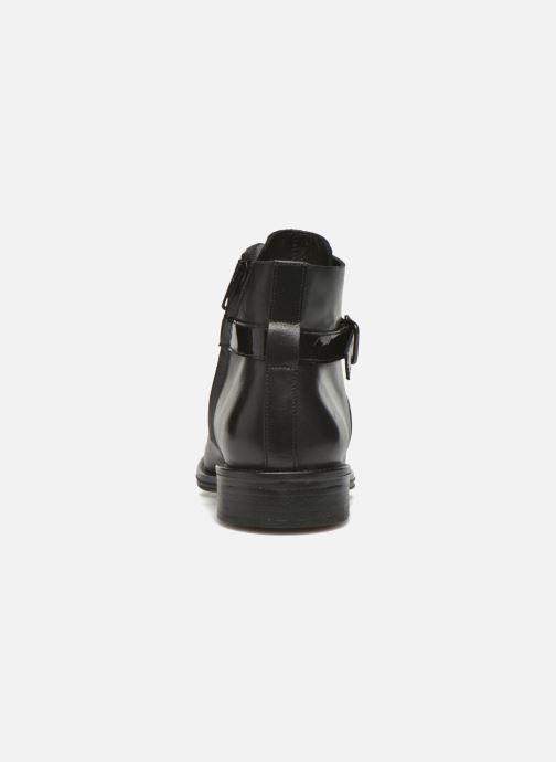 Bottines et boots Schmoove Woman Newton buckle Noir vue droite