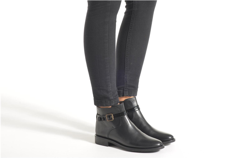 Boots en enkellaarsjes Schmoove Woman Newton buckle Zwart onder