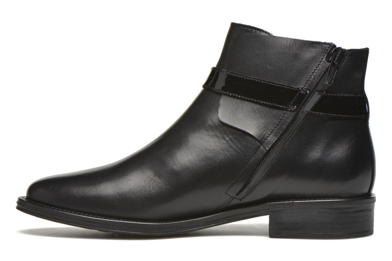 Boots en enkellaarsjes Schmoove Woman Newton buckle Zwart voorkant