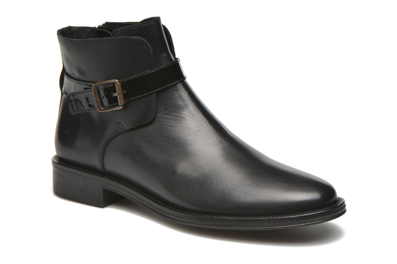 Boots en enkellaarsjes Schmoove Woman Newton buckle Zwart detail