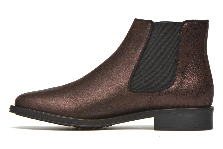 Boots en enkellaarsjes Schmoove Woman Newton chelsea trento Paars voorkant
