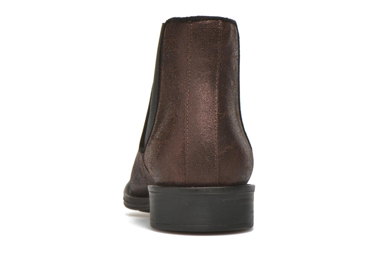 Bottines et boots Schmoove Woman Newton chelsea trento Violet vue droite
