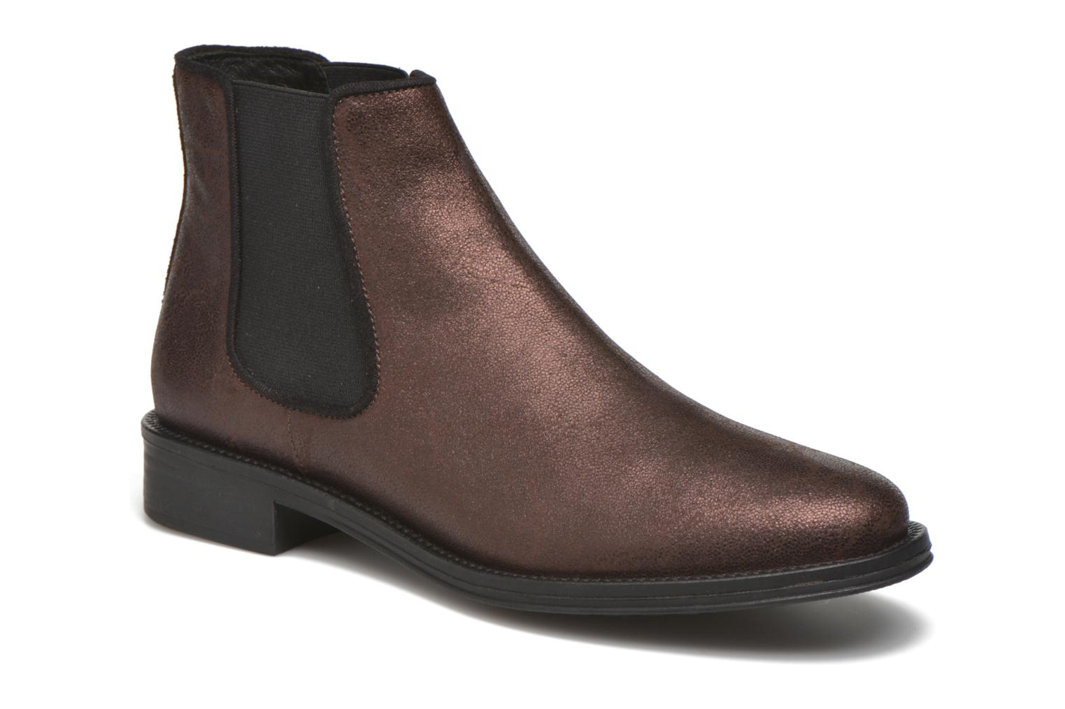 Ankle boots Schmoove Woman Newton chelsea trento Purple detailed view/ Pair view