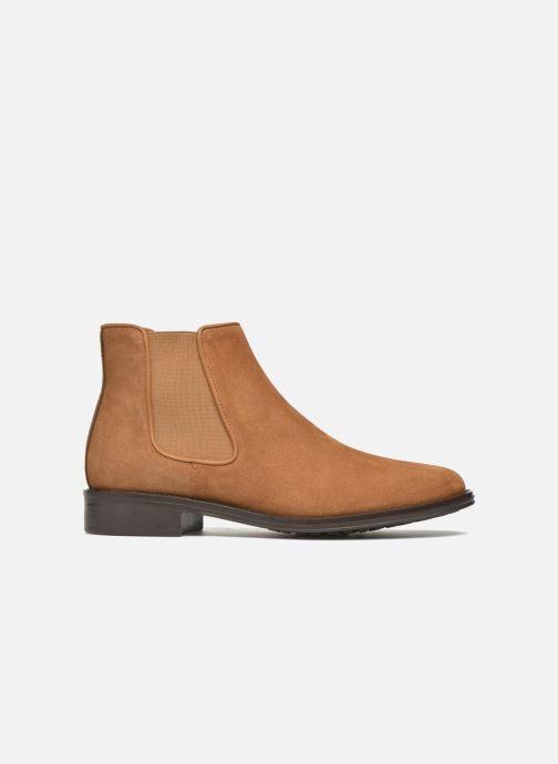Bottines et boots Schmoove Woman Newton chelsea suede Marron vue derrière