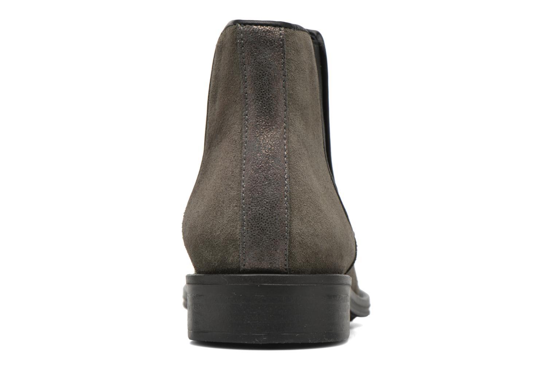 Bottines et boots Schmoove Woman Newton chelsea suede Gris vue droite