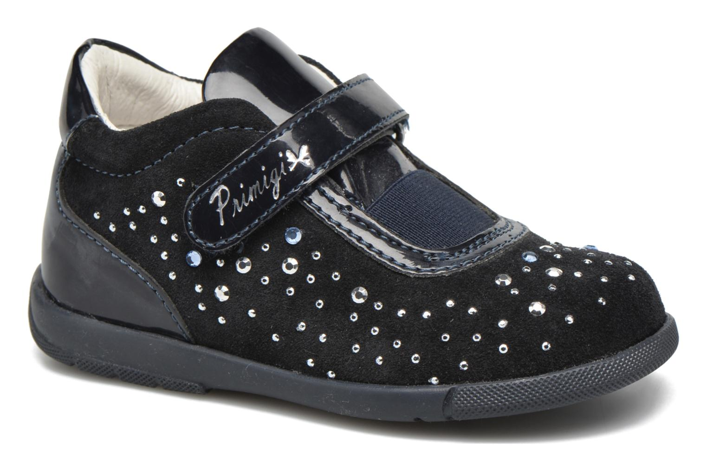 Chaussures à scratch Primigi Eleonora Bleu vue détail/paire
