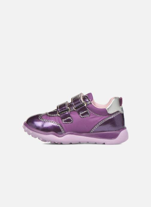 Zapatos con velcro Primigi Morgana 2 Violeta      vista de frente