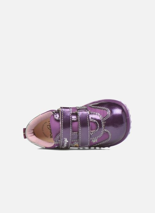 Zapatos con velcro Primigi Morgana 2 Violeta      vista lateral izquierda