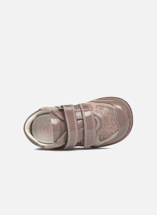 Chaussures à scratch Primigi Ghigo 7 Marron vue gauche