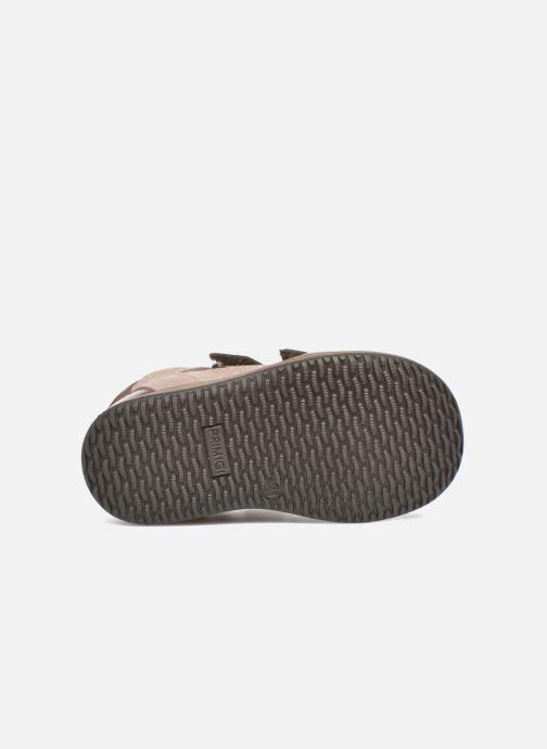 Chaussures à scratch Primigi Ghigo 7 Marron vue haut