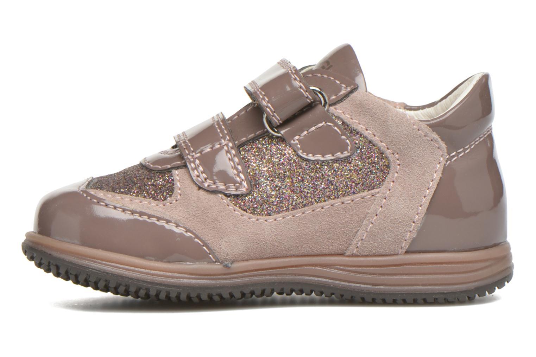 Zapatos con velcro Primigi Ghigo 7 Marrón vista de frente