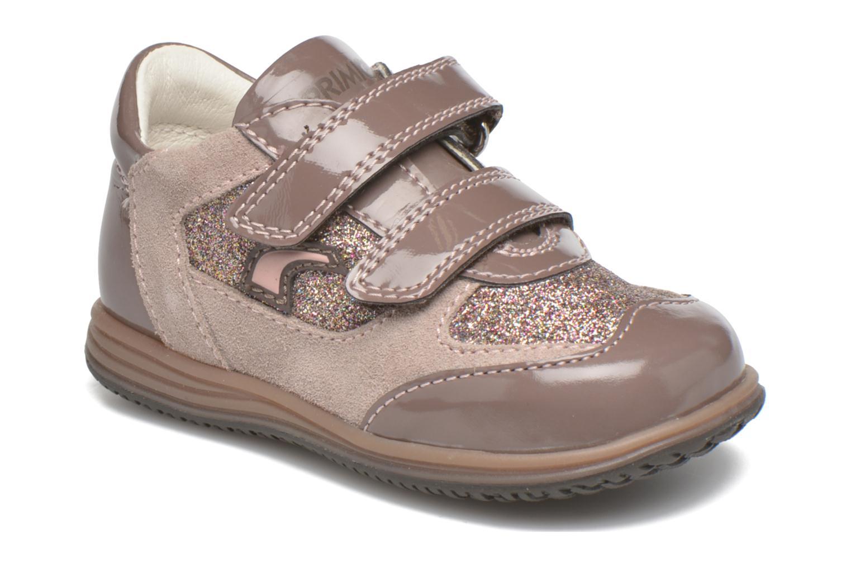 Zapatos con velcro Primigi Ghigo 7 Marrón vista de detalle / par