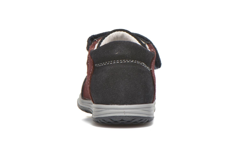 Zapatos con velcro Primigi Ghigo 7 Azul vista lateral derecha