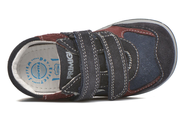 Zapatos con velcro Primigi Ghigo 7 Azul vista lateral izquierda