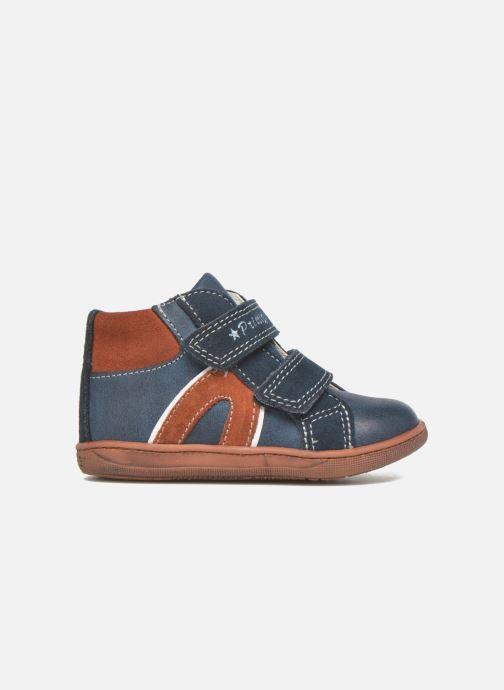 Chaussures à scratch Primigi Jordan 1 Bleu vue derrière