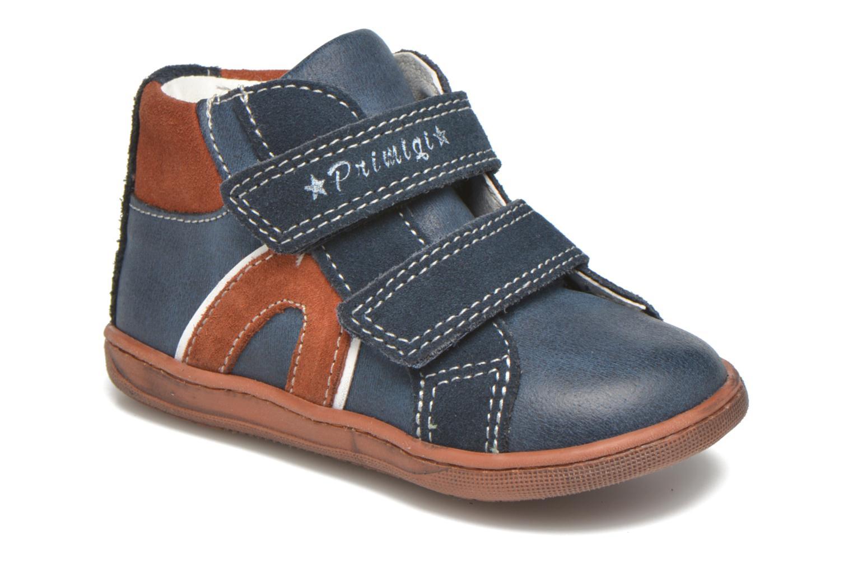 Velcro shoes Primigi Jordan 1 Blue detailed view/ Pair view