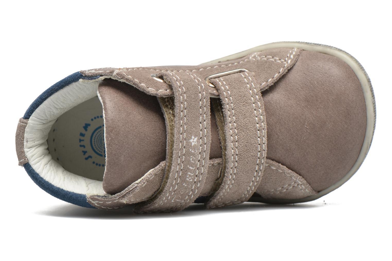 Chaussures à scratch Primigi Jordan 1 Marron vue gauche