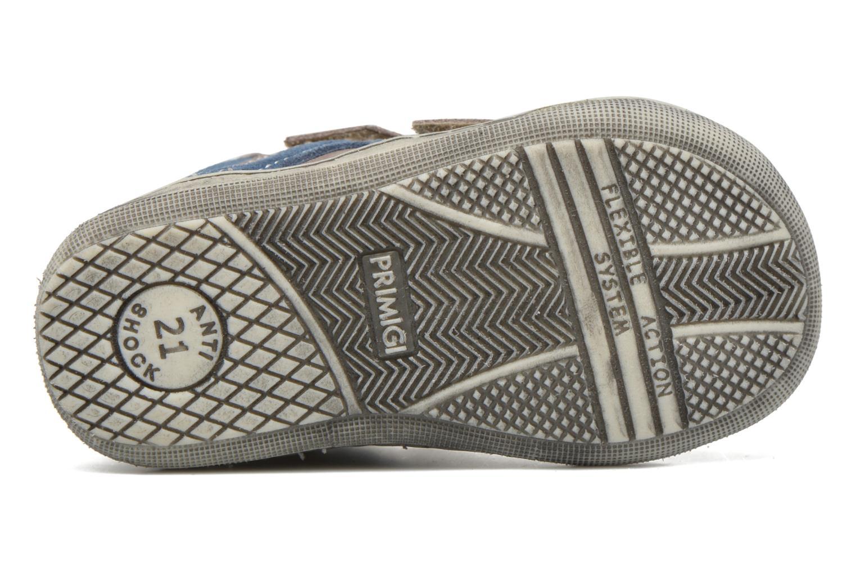 Chaussures à scratch Primigi Jordan 1 Marron vue haut