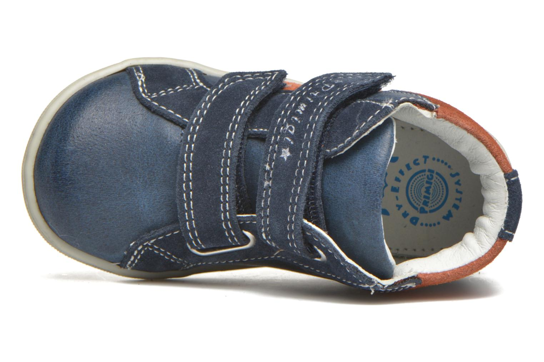 mit Klettverschluss Primigi Jordan 1 blau ansicht von links
