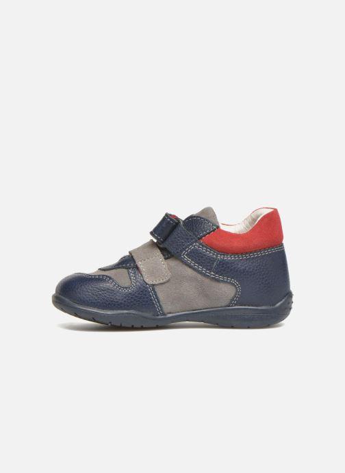 Chaussures à scratch Primigi Jesse Gris vue face