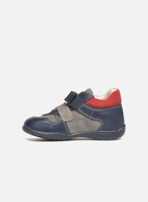 Zapatos con velcro Primigi Jesse Gris vista de frente