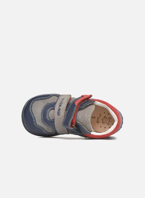 Zapatos con velcro Primigi Jesse Gris vista lateral izquierda