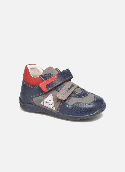 Chaussures à scratch Primigi Jesse Gris vue détail/paire