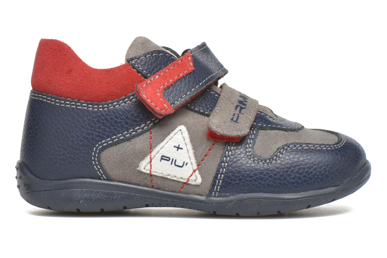 Zapatos con velcro Primigi Jesse Gris vistra trasera