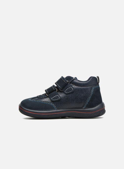 Zapatos con velcro Primigi Alfredo Azul vista de frente
