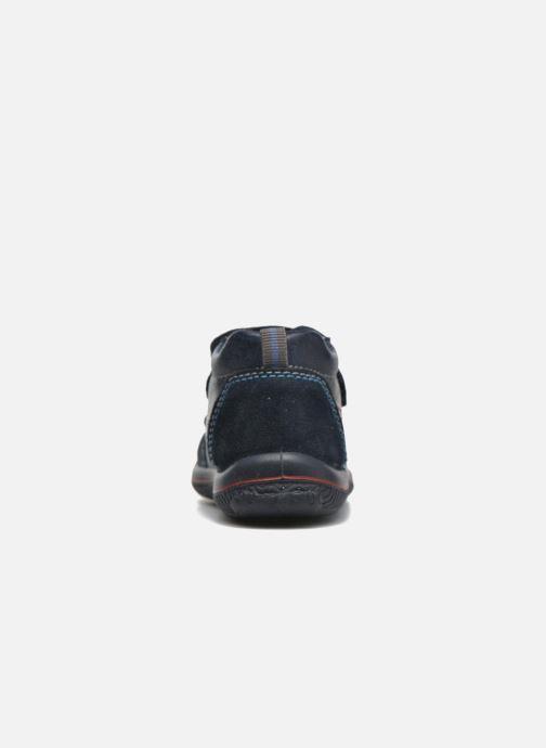 Zapatos con velcro Primigi Alfredo Azul vista lateral derecha