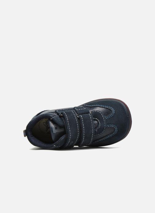 Zapatos con velcro Primigi Alfredo Azul vista lateral izquierda