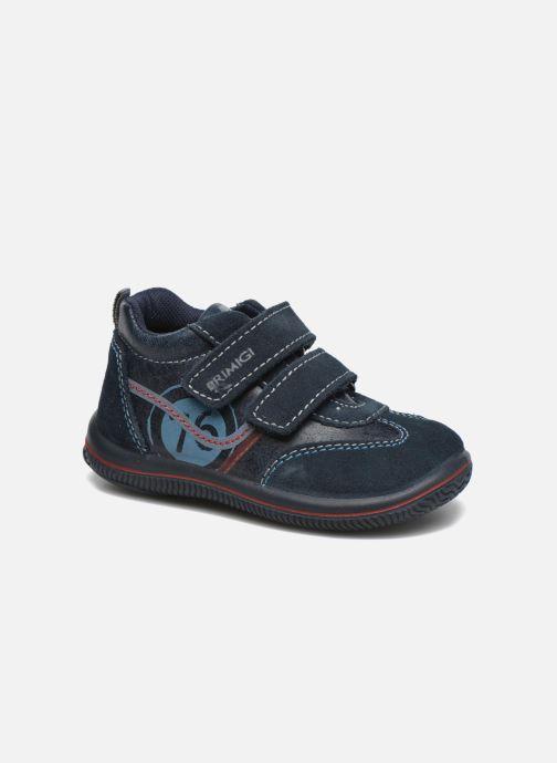 Zapatos con velcro Primigi Alfredo Azul vista de detalle / par