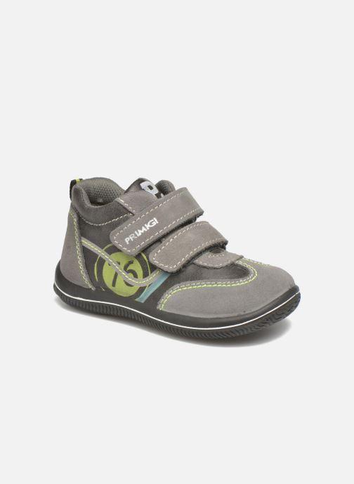Chaussures à scratch Primigi Alfredo Gris vue détail/paire
