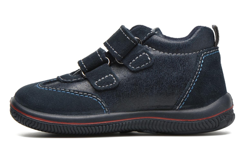 Schoenen met klitteband Primigi Alfredo Blauw voorkant