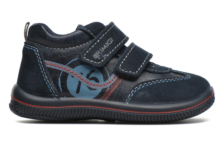 Schoenen met klitteband Primigi Alfredo Blauw achterkant