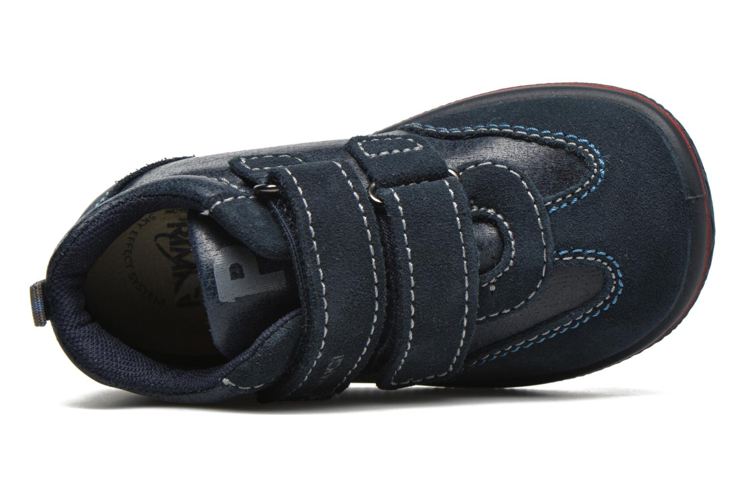 Velcro shoes Primigi Alfredo Blue view from the left
