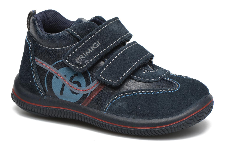 Velcro shoes Primigi Alfredo Blue detailed view/ Pair view